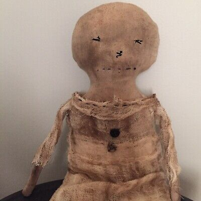 EARLY PRIMITIVE HANDMADE CLOTH Doll 20