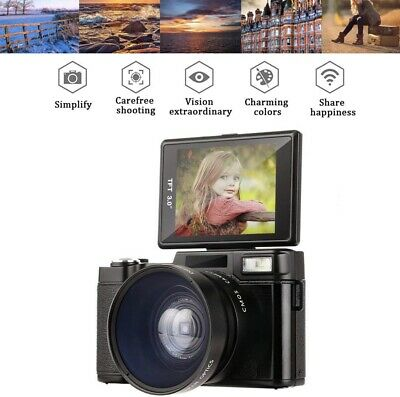 Digital camcorder Full HD 1080p 24MP