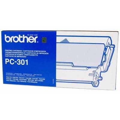 Brother PC-301 Thermal Ribbon Printing Cartridge for FAX 770/910/917 A3FP