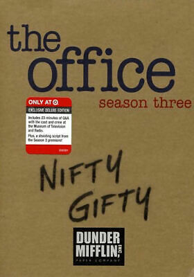 The Office: Season 3 - Nifty Gifty Target Exclusive (DVD, 2007, 5-  - Acceptable