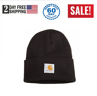 Carhartt Men s Beanie Knit Hat Warm Acrylic Watch Cap One Size Men s  Accessories 6d083a5725dc
