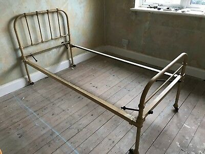 Victorian Cast Iron Single Bed Frame