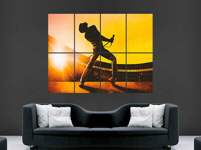 Freddie Mercury Wembley Stadium 1986 Wall Poster Art Picture Print Iconic