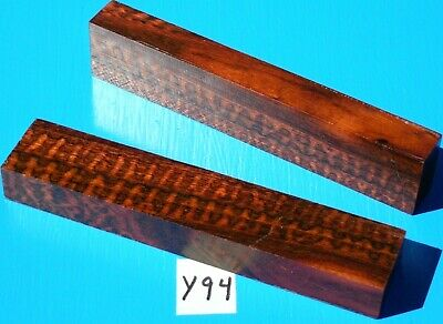 2 Pieces Snakewood Knife Handle Spacer~Insert~Inlay~Jewelry Making~Exotic Wood