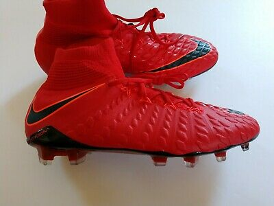 761b424cb1d Nike Hypervenom Phantom III DF FG Unv Red Black Soccer Cleats 860643-616  Size