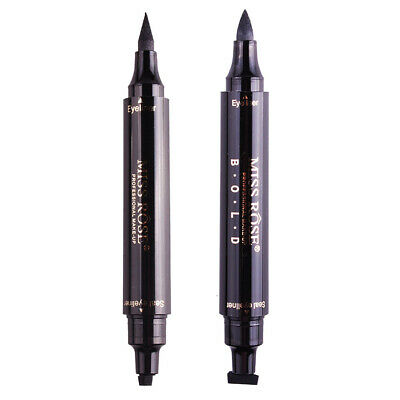 Black Eyeliner Pen Seal Eye Liner Stamp Winged Head Makeup Tool Waterproof