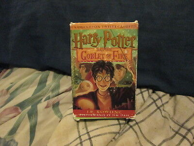2000 The Harry Potter And The Goblet Of Fire Audio Book 12 Cassettes Unabridged