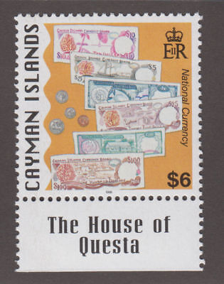 Cayman Is. - 1996 National Currency $6 High Value. Sc.#733, SG #835. Mint NH