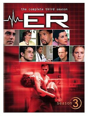 NEW  ER  TV Series Drama The Complete Third 3rd Season 3 6-Disc DVD Box Set 2011