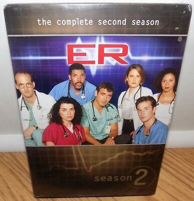 NEW ER TV Series Drama The Complete Second 2nd Season 2 7-Disc DVD Box Set 2011