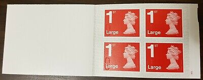 4 x 1st Class Royal Mail LARGE Postage Stamps NEW AND UNUSED