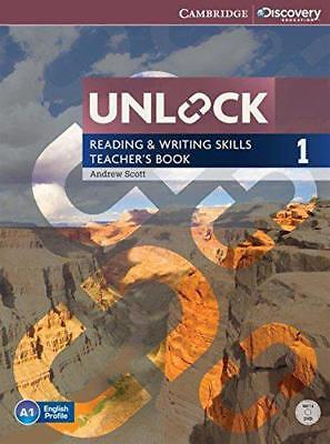 Unlock Level 1 Reading and Writing Skills Teacher's Book with DVD by Scott, Andr