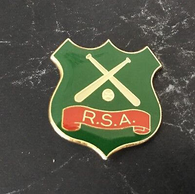 Softball Badge R.S.A. Shield Badge!