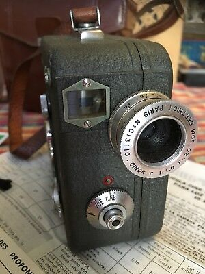 1950's French Pathe National II 9.5 Movie Cini Camera Rare Vintage