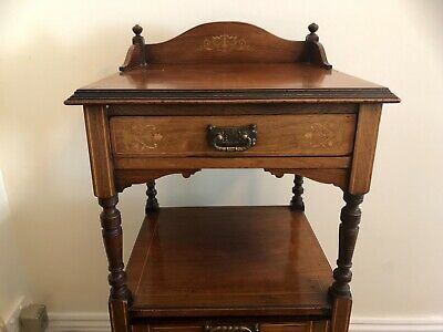 Antique Coal Scuttle Cabinet