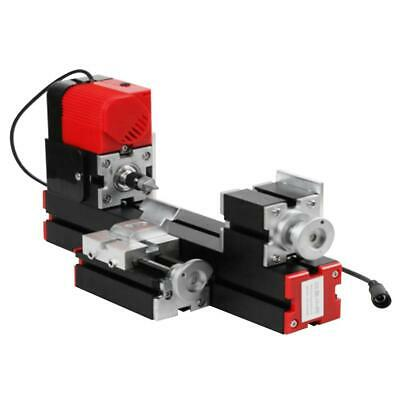 Mini 6 in 1 Motorized Jigsaw Grinder Wood Metal Lathe Woodworking 100-240V RH