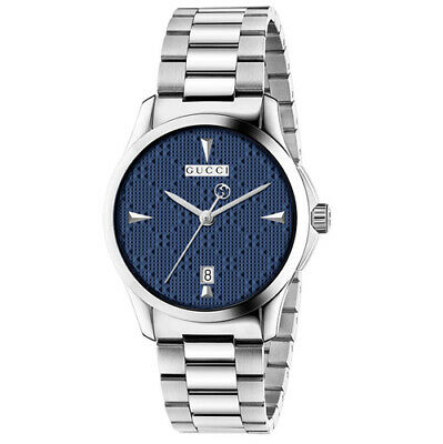 5a4902237ae GUCCI G-TIMELESS RECTANGLE Stainless Steel Men s Watch YA138401 ...