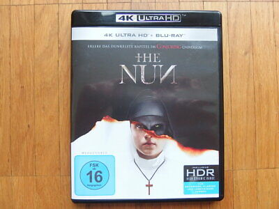The Nun 4k Ultra HD UHD Blu-Ray Dolby Atmos