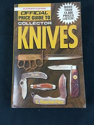 11th edition price guide Collector Knives C. Houston Price 534 pages