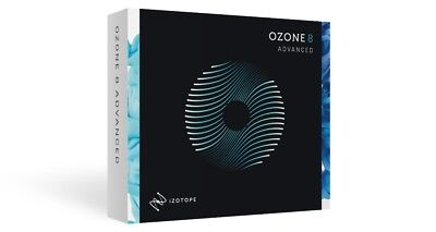 iZotope Ozone 8 Advanced - Mastering Suite - SERIAL ONLY