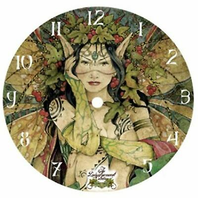 Linda Ravenscroft Forest Bedroom Wall Clock Round Gothic Medieval Clock Now9957