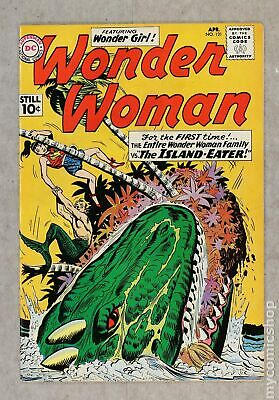 Wonder Woman (1st Series DC) #121 1961 VG/FN 5.0