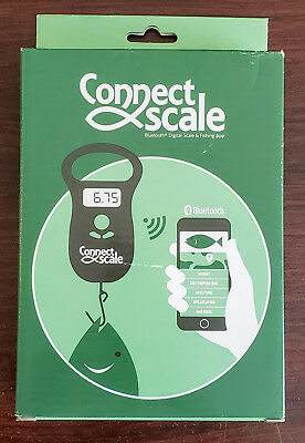 ConnectScale Digital Bluetooth Fishing Scale 55lbs