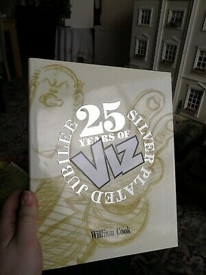 Viz 25 years silver plated jubilee annual