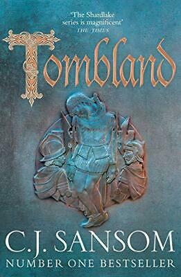 Tombland (The Shardlake series) by Sansom, C. J., Hardcover Book, New, FREE & Fa