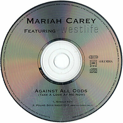 "Mariah Carey Against All Odds UK CD single (CD5 / 5"") promo SAMPCS8944"