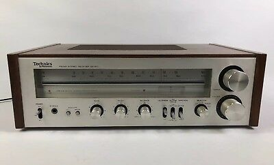 Vintage Technics Model SA-200 FM/AM Stereo Receiver NOT WORKING FOR PARTS