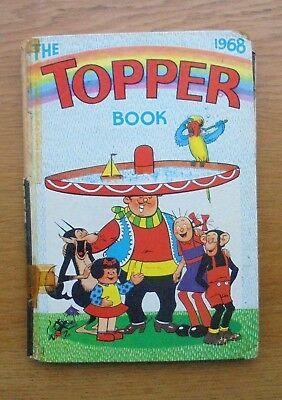 Vintage TOPPER Annual Book 1968