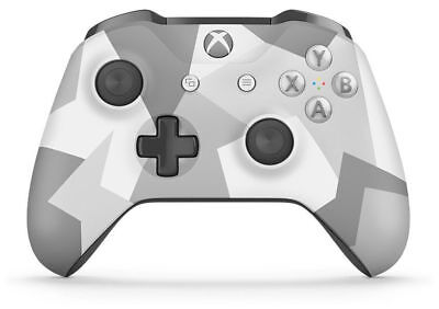 Microsoft Xbox One Wireless Controller Winter Forces Special Edition Genuine