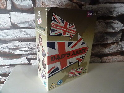 classic BBC : DAD'S ARMY : THE COMPLETE COLLECTION DVD -  FAST/FREE POST