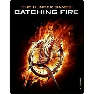 The Hunger Games - Catching Fire - Limited Edition STEELBOOK Blu-ray+DVD + UV