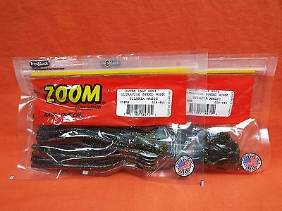 Zoom Ultra vibe Speed Worm 2 Pcks #018-326 Scuppernong Candy 15cnt