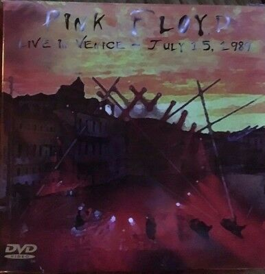"Pink Floyd ""live In Venice"" Rare Edition Digipack 2 Cd's + Dvd Neuve !"