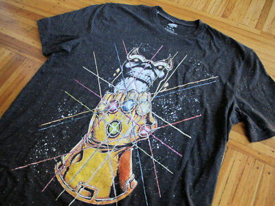 MARVEL Infinity Gauntlet Thanos t-shirt sz XL avengers war authentic licensed