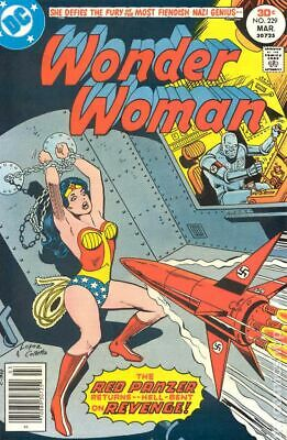 Wonder Woman (1st Series DC) #229 1977 VG Stock Image Low Grade