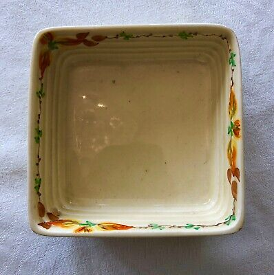 Lovely Clarice Cliff Wilkinson Square Pin Dish