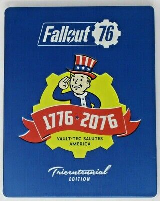 Fallout 76 - With Tricentennial Steelbook For PlayStation 4 - Very Good - READ