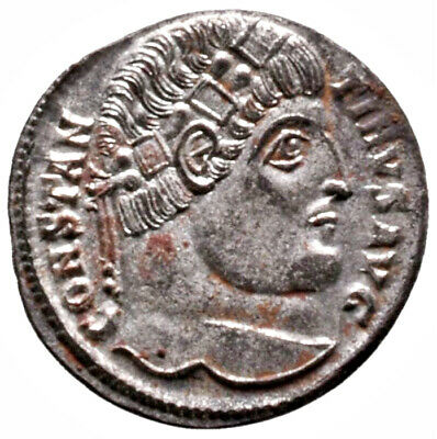 CONSTANTINE THE GREAT (331 AD) Rare Follis. Antioch #IU 1563