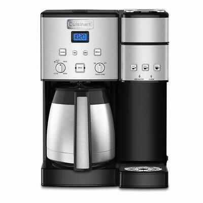 Cuisinart Coffee Center 10-Cup Coffeemaker and Single-Serve Brewer (Silver)