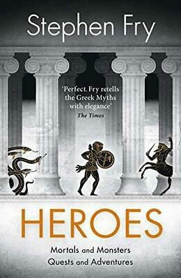 Heroes by Fry, Stephen, Hardcover Book, New, FREE & Fast Delivery!