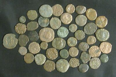 Lot of 44 Ancient Roman Coins Medium-Low Quality
