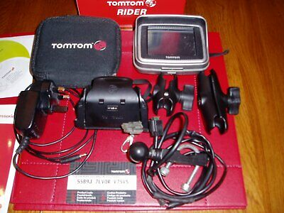 TomTom RIDER 2nd Edition - Europe Motorcycle GPS Receiver