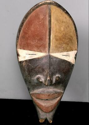 Outstanding  Tribal Dan Bagle  Mask        --  Coted'Ivoire