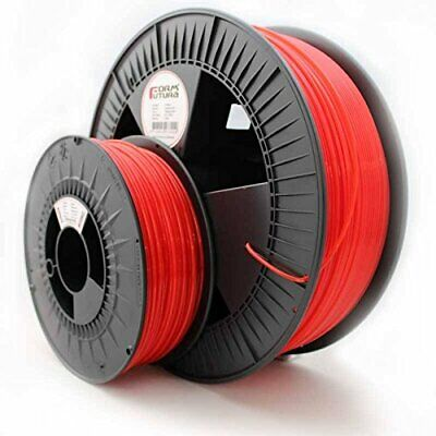 Massive 2.3kg! Formfutura Premium 3D Printer Filament, ABS, 175mm Red