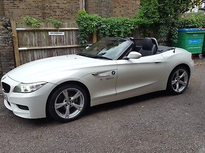 BMW Z4 convertible  2.0 18i m sport s drive automatic petrol white convertible