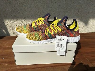0d5130e0320f0 ADIDAS PHARRELL WILLIAMS PW Tennis HU Multicolor BY2673 EU 42